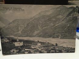 Cartolina Dintorni Di Longarone  Prov Belluno Fortogna Frazione Di Longarone E Vallata Del Piave 1917 - Belluno