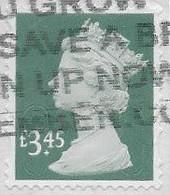 GB 2019 Machin £3.45 M19L Good/fine Used [40/32846/ND] - Machins