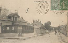 CPA - Maintenon - Rue De La Gare - Maintenon