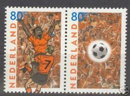 Nederland NVPH 1888-89 Paar EK Voetbal 2000 MNH Postfris Football - Unused Stamps
