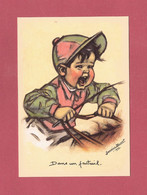 CPM..Germaine BOURET : Dans Un Fauteuil . - Bouret, Germaine