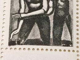 Carnet Croix-Rouge De 1961 (Variété, Signature Maculée Sur 4 Timbres N° 1324a, RARE !!!) Neuf ** Gomme D'Origine  TTB - Croce Rossa