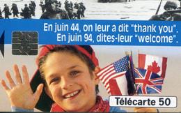 TELECARTE  France Telecom  50 UNITES 600.000 Ex.   1994 - Telecom Operators