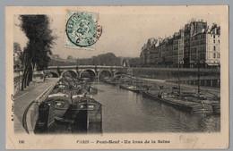 AMBULANT PARIS A BELFORT 2°  - POSTE FERROVIAIRE - TRAIN / 1904 CARTE POUR CHATEAU VILLAIN (ref LE4492) - Posta Ferroviaria
