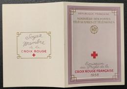 Carnet Croix-Rouge De 1958 Neuf ** Gomme D'Origine  TTB - Red Cross