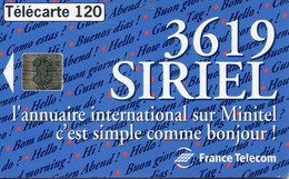 TELECARTE  France Telecom  120 UNITES  2500000 Ex. - Telecom Operators