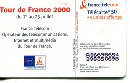 TELECARTE  France Telecom  50 UNITES  3.000.000 Ex. - Telecom Operators