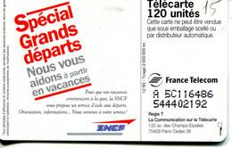 TELECARTE  France Telecom  120 UNITES  2.000.000 Ex. - Telecom Operators