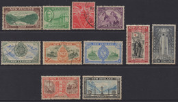 NEW ZEALAND 1946 PEACE SET OF (11) VFU - Used Stamps