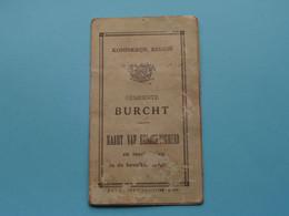 BURCHT N° 7928 > KAART VAN EENZELVIGHEID / PASPOORT ( Van HAVENBERGH Frans 30 Dec 1915 ) ( Details Zie Foto ) ! - Unclassified