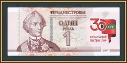 Transnistria 1 Ruble 2021 P-NEW UNC - Sonstige – Europa