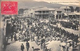 ANTILLES - HAITI - PROCESSION DU T. S. SACREMENT A PORT AU PRINCE - Haiti