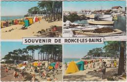 RONCE LES BAINS UN COIN DE LA PLAGE LES BORDS DU CANAL DE LA SEUDRE 1964 CPSM 9X14 TBE - Otros Municipios