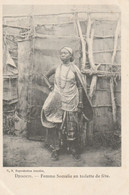 Djibouti (4517)  Femme Somalie En Toilette De Fête - Djibouti