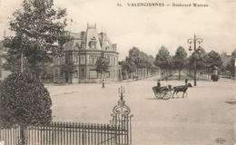VALENCIENNES : BOULEVARD WATTEAU - Valenciennes