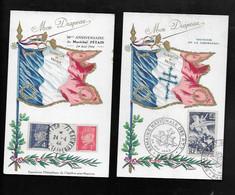 Lot 2 Carte Souvenirs Mon Drapeau - Unclassified
