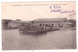 SENEGAL - CASAMANCE - ZIGHINCHOR - Un Jour De Courrier - En Attendant Le Vapeur (carte Animée) - Senegal