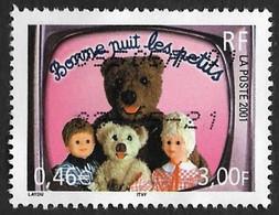 FRANCE  2001  -  Y&T 3372   -  Bonne Nuit Les Petits   - Oblitéré - Gebruikt