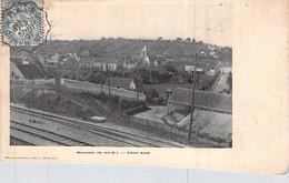 [78] Yvelines > Beynes Avenue Côté Sud La Ligne De Chemin De Fer Cachet Timbre 1907 Env à Maréchal - Beynes