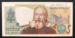 2000 LIRE Galileo Galilei Baffi Stevani 22 10 1976 Q.fds/fds LOTTO 3399 - 2000 Lire