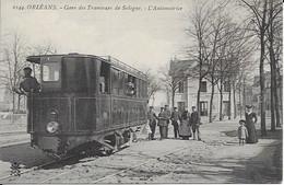 Gare Des Tramwas De Sologne L'automotrice  Carte Neuve - Orleans