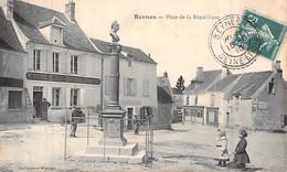 78 Yvelines Beynes Place De La République Groupe D Enfants Carte Animée Mùenuiserie Meubles 1910 Env à Boulanger Clichy - Beynes