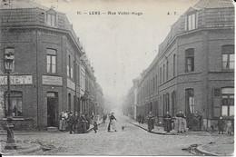 Rue Victor Hugo Carte Peu Fréquente - Lens