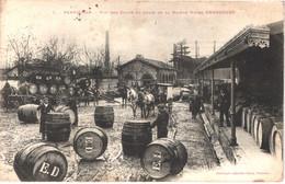 FR66 PERPIGNAN - Labouche 1 - Maison Viticole DRANCOURT - Cours Et Quais D'expéditions - Tonneaux Vins - Animée - Belle - Perpignan