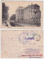 94659 Feldpost Ak Zabern Etappen Kraftwagen Park Falkenhausen 1915 - Elsass
