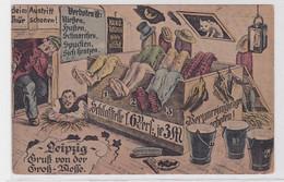 93710 Ak Leipzig Gruß Von Der Groß-Messe 1919 - Sin Clasificación