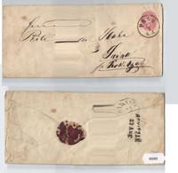 93282 Ganzsachen Brief 5 Kreuzer Österreich K. U. K. Monarchie Prag Nach Swisa - Unclassified