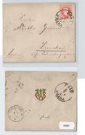 93281 Brief 5 Kreuzer Österreich K. U. K. Monarchie - Prag Nach Zwickau 1881 - Unclassified