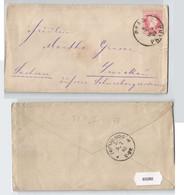 93280 Brief 5 Kreuzer Österreich K. U. K. Monarchie - Prag Nach Zwickau 1883 - Unclassified