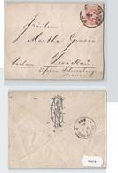 93279 Brief 5 Kreuzer Österreich K. U. K. Monarchie - Prag Nach Zwickau 1883 - Unclassified