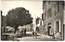 """CPSM ILE DE RE - La Couarde - Ed. Artaud - Gaby N°108 - Hôtel Restaurant Café """" Les Mouettes """" - Coiffeur - Ile De Ré"""