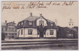 88686 Ak Mönsterås In Schweden Järnvägsstationen 1925 - Suecia