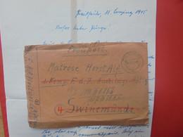 3eme REICH 1945 Avec Contenu - Covers & Documents