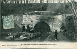 CANAL De St QUENTIN - LE SOUTERRAIN De LESDINS - - Non Classificati