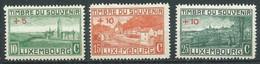 Luxembourg YT N°137/139 Timbre Du Souvenir Surchargé Neuf ** (Voir Description) - Unused Stamps