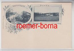78523 Mehrbild Ak Gruß Aus Dorna Gasthof Und Totalansicht Um 1900 - Zonder Classificatie