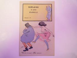 2021 - 2094  Illustrateur  Xavier SAGER  :  Diplôme De Parfait RAMOLLI  XXX - Sager, Xavier