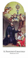S. FRANCESCO CARACCIOLO - Patrono Dei Cuochi - M - PR - Mm. 65 X 110 - Religión & Esoterismo