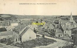 49 Chaudefonds, Vue Générale Prise De La Carrière, Affranchie 1912 - Otros Municipios