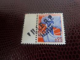 Marianne à La Nef - 25c. - Bleu Et Rouge - Oblitéré  - Année 1960 - - 1959-60 Marianna Alla Nef