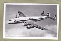 CAPITAL'S SUPER CONTELLATION    Enell Inc - 1946-....: Era Moderna