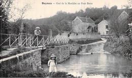 78 Yvelines Beynes Le Village Et Le Gué Au Du Pont Barra - Beynes