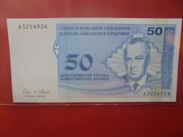 BOSNIE-HERZEGOVINE 50 DINARA Peu Circuler/ Neuf (B.23) - Bosnia Erzegovina