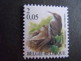 België Belgique Belgium 2000 Vogels Oiseaux Buzin Boomkruiper Grimperau Des Jardins 2919 MNH ** - 1985-.. Vogels (Buzin)