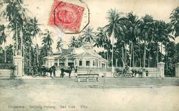 SINGAPOUR = Tanjong Katon : Sea Side Villa  CACHET YOKOAMA à MARSEILLE N°2      2389 - Singapore