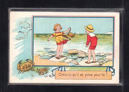 (02/06/21) THEME ILLUSTRATEURS-CPA E.OROT - CROIS TU QU'IL EN PINCE POUR TOI - Altre Illustrazioni